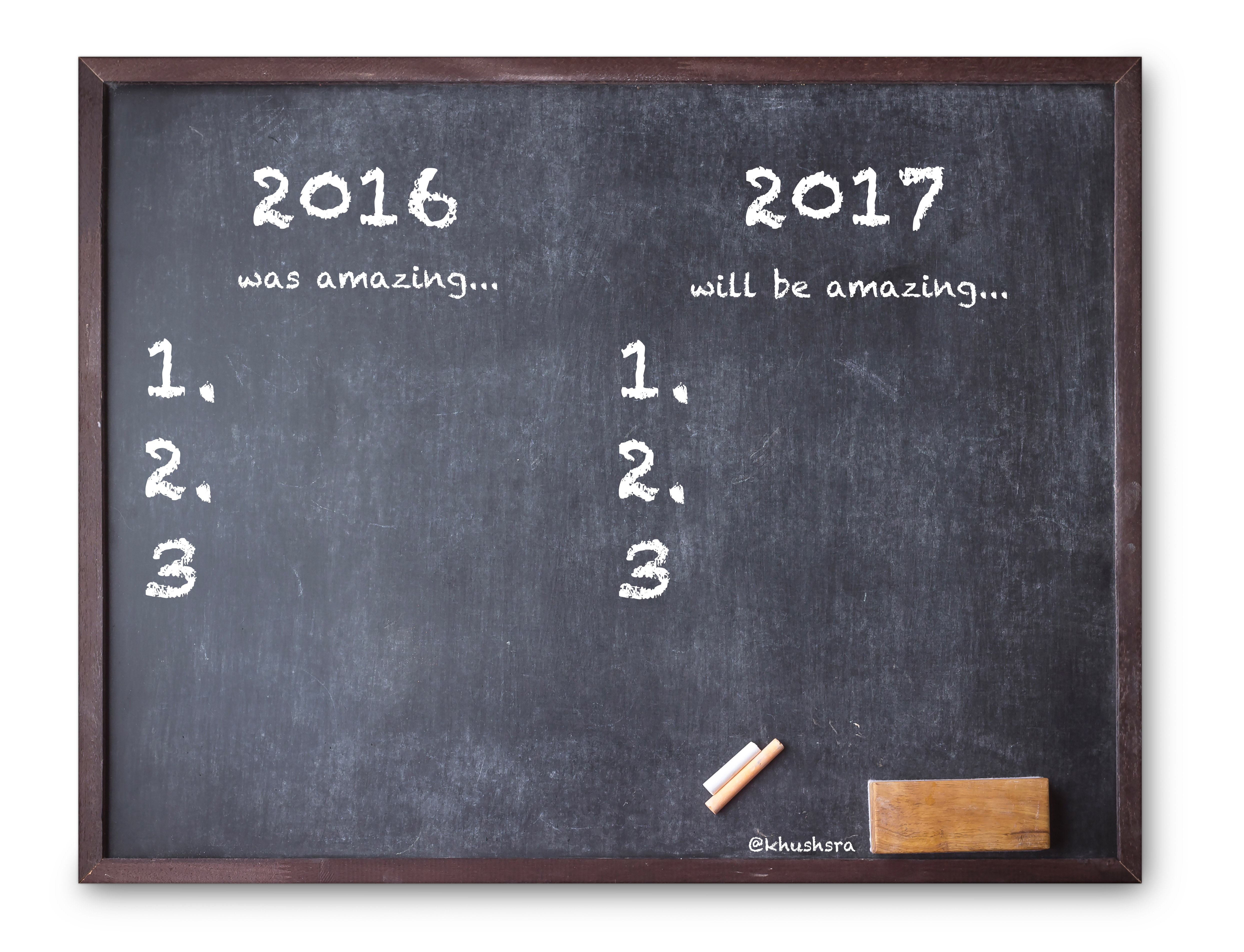 Why believing is the most important resolution for 2017